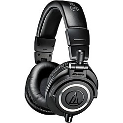 Audio-Technica ATH-M50x Closed-Back Professional Studio Monitor Headphones (ATH-M50x)
