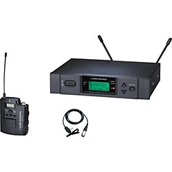 Audio-Technica ATW-3131b 3000 Series Lavalier Wireless System (ATW3131BC)