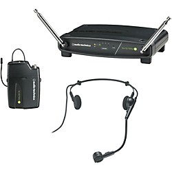 Audio-Technica ATW-901/H System 9 VHF Wireless Headset Microphone System (ATW-901/H)