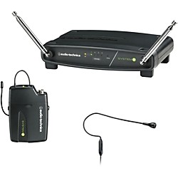 Audio-Technica ATW-901/H92 System 9 VHF Wireless Headset Microphone System (ATW-901/H92)