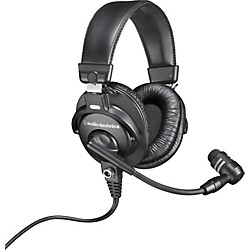 Audio-Technica BPHS1 Broadcast Stereo Headset with Dynamic Boom Mic (BPHS1)