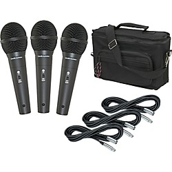 Audio-Technica M4000S 3-Pack Mic and Bag Kit (KIT773145)