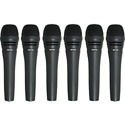 Audio-Technica M8000 Dynamic Mic 6 Pack (M80006pk KIT)