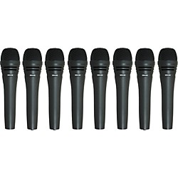 Audio-Technica M8000 Dynamic Mic 8 Pack (M80008pk KIT)