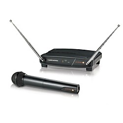 Audio-Technica System 8 Wireless System includes: Handheld Dynamic Unidirectional Microphone/Transmitter (ATW-802-T2)