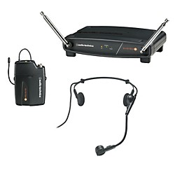Audio-Technica System 8 Wireless System includes: PRO 8HEcW headworn microphone (ATW-801/H-T8)