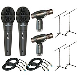 Audio-Technica Twelve Piece Mic Package (KIT877295)