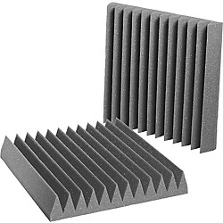 "Auralex 4"" Studiofoam Wedge 2'x2'x4"" panels (6 pack) (4SF22PUR-HP)"