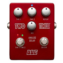 BBE Two Timer Analog Delay Guitar Effects Pedal (USED004000 TT-2)