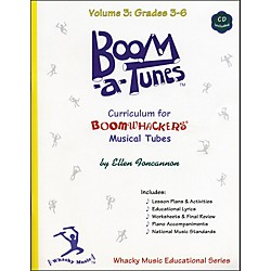 BOOMWHACKERS Boom-A-Tunes Curriculum Volume 3 (Book/CD) (BT3B)