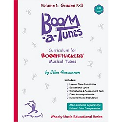 BOOMWHACKERS Boom-a-Tunes Curriculum, Volume 1 (Book/CD) (BT1B)