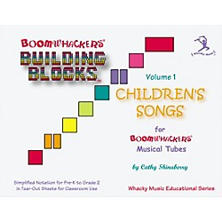 BOOMWHACKERS Boomwhackers Building Blocks Children's Songs Volume 1 Book (BV1T)