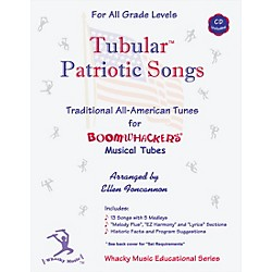 BOOMWHACKERS Boomwhackers Tubes Tubular Patriotic Songs Book with CD (EFPA)