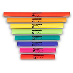 BOOMWHACKERS C Major Diatonic Scale Set (Upper Octave) Boomwhackers Tuned Percussion Tubes (BWDG)