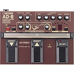 BOSS AD-8 Acoustic Guitar Multi Effects Pedal (AD-8)