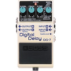 BOSS DD-7 Digital Delay Guitar Effects Pedal (DD-7)