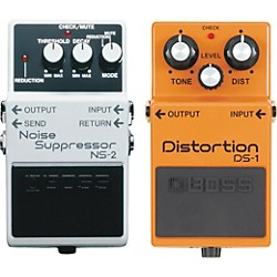 BOSS DS-1 and NS-2 Guitar Effects Pedals (KIT-482861)