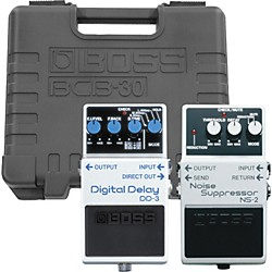 BOSS NS-2/DD-3 Pedals with BCB-30 Pedalboard (KIT-150474)