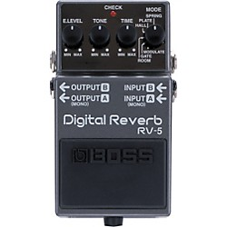 BOSS RV-5 Digital Reverb Effects Pedal (RV-5)