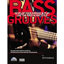 Backbeat Books Bass Grooves (Book/CD) (331257)