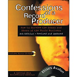 Backbeat Books Confessions Of A Record Producer Book/CD-Rom (331991)