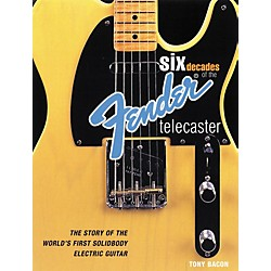 Backbeat Books Six Decades of the Fender Telecaster (Book) (331298)
