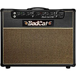 Bad Cat Black Cat 15w 1x12 Guitar Combo Amp with Reverb (BC 15 R 112)