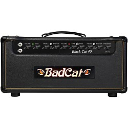 Bad Cat Black Cat 40w Guitar Head (BC 40 HD)