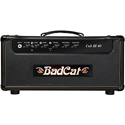 Bad Cat Cub III 40w Guitar Head (Cub III 40 HD)