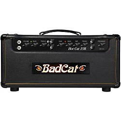 Bad Cat Hot Cat 15w Guitar Amp Head with Reverb (HC 15R HD)