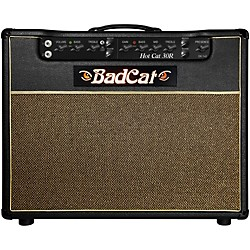 Bad Cat Hot Cat 30 1x12 Guitar Combo Amp with Reverb (HC 30 R 112)