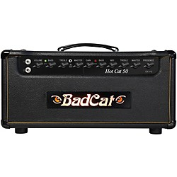 Bad Cat Hot Cat 50w Guitar Amp Head (HC 50 HD)