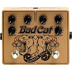 Bad Cat Siamese Dual Drive Overdrive Pedal (USED004000 SIAM)