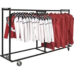 Band Caddy 8 Foot Side by Side Uniform Caddy (96)