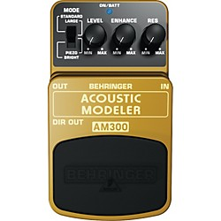 Behringer Acoustic Modeler AM300 Guitar Effects Pedal (AM300)