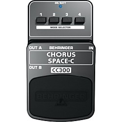 Behringer CC300 Chorus Space-C Guitar Effects Pedal (CC300)