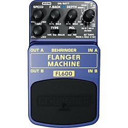 Behringer Flanger Machine FL600 Guitar Effects Pedal (FL600)