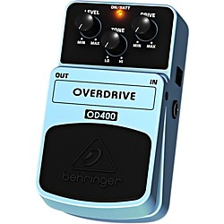Behringer OD400 Overdrive Guitar Effects Pedal (OD400)