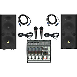 Behringer PMP4000 / VP2520 Live Sound Bundle (PMP4000VP2520LS)