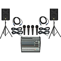 Behringer PMP6000 / VP1520 PA Package (PMP6000VP1520)