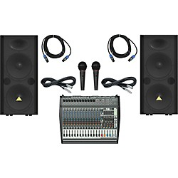 Behringer PMP6000 / VP2520 Live Sound Bundle (PMP6000VP2520LS)