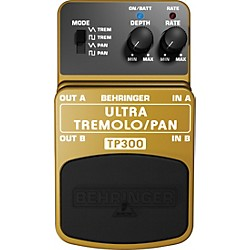Behringer TP300 Ultra Tremolo/Pan Effects Pedal (TP300)