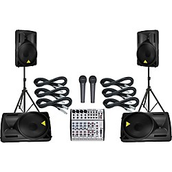 Behringer UB1202 / B215D Mains & Monitors Package (UB1202/B215D mmKIT)