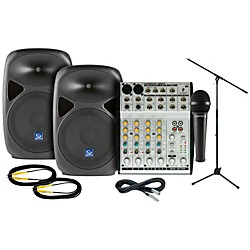 Behringer UB802 Gem Sound PXB120 PA Package (UB802 PXB120 PA Package)
