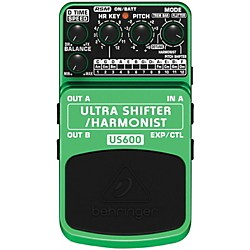 Behringer US600 Ultra Shifter/Harmonist Guitar Effects Pedal (US600)