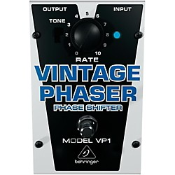 Behringer VP1 Vintage Phaser Effects Pedal (VP1/B)
