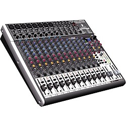 Behringer XENYX X2222USB USB Mixer with Effects (X2222USB)
