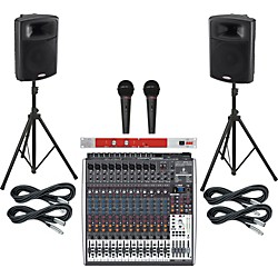 Behringer Xenyx X2442USB / Harbinger APS15 PA Package with BBE 382i (X2442USBAPS15382i)