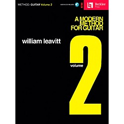 Berklee Press A Modern Method for Guitar - Volume 2 (Book/CD) (50448021)
