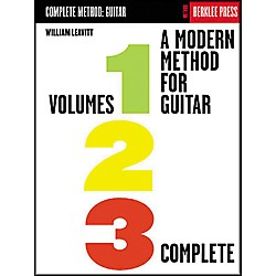 Berklee Press A Modern Method for Guitar - Volumes 1, 2, 3 Complete Book (50449468)
